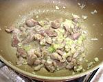 砂肝炒め(3)