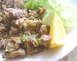 砂肝炒め(4)
